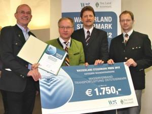 Sieger Wasserland Steiermark Preis 2012